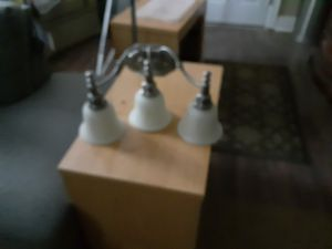 Silver bathroom light fixture for Sale in East Point, GA