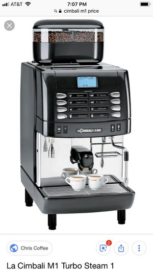 d781660450365e La Cimbali M1 Industrial Espresso Machine-5 years old for Sale in Saint  Paul