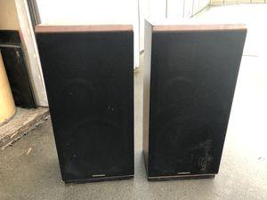 Vintage Marantz floor speakers - tested original covers for Sale in Fresno, CA