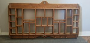 Solid wood essential oil shelf. Amish furniture for Sale in Houston, TX