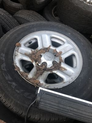 Jeep stock wheels and tires for Sale in Plant City, FL
