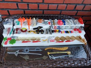 Mixed 1990s Mighty Morphin Power Rangers Accessories & Weapons Lot for Sale in Yonkers, NY