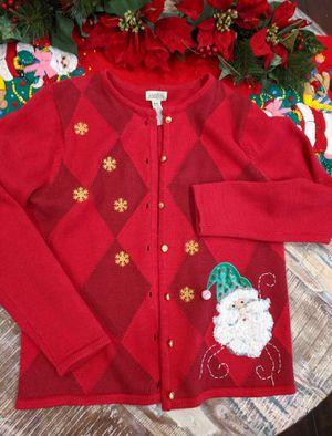 Medium Christmas cardigan for Sale in Rancho Cucamonga, CA