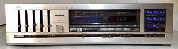 JVC R-X60 Digital Synthesizer Stereo Receiver Vintage Rare (1982)