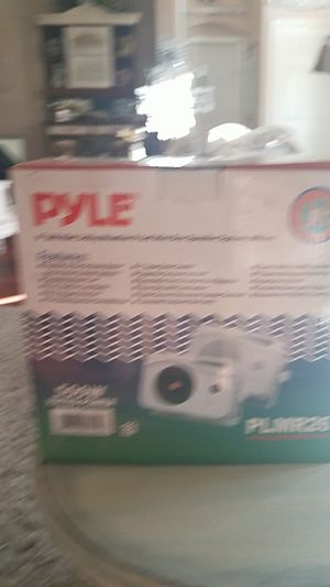 Pyle weather proof boat speakers for Sale in Canyon Lake, CA
