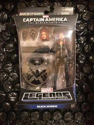 Marvel legends Black widow Mandroid wave Captain America the winter soldier. for Sale in Glendale, CA