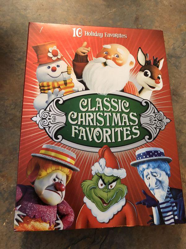 Classic Christmas Favorites (DVD, 2008, 4-Disc Set) grinch frosty snowman +