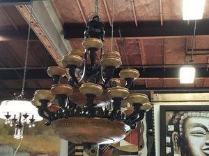 Like New Stunning Mariner Alabaster Chandelier for Sale in San Diego, CA