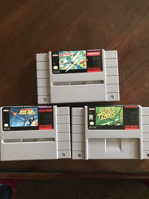 Super Nintendo $7.00 each or $18.00 for all for Sale in Menifee, CA