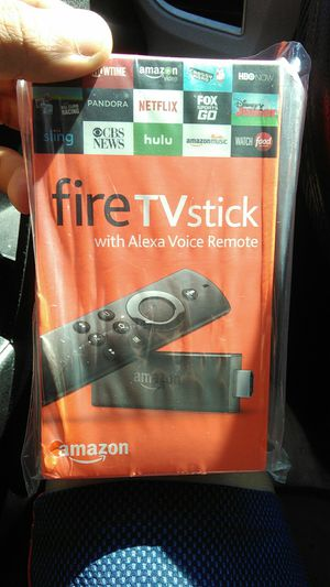 Fire TV stick with Alexa voice remote for Sale in Capitol Heights, MD