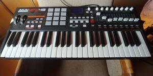 Akai MPK 49 for Sale in Perris, CA
