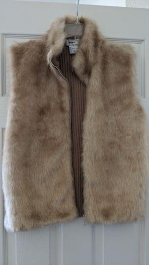 Fur vest women's Large for Sale in Union City, CA