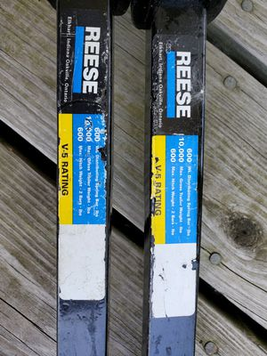 Reese Weight Distribution Spring Bars 600lb for Sale in Swormville, NY