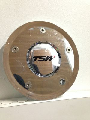TSW Chrome Center Cap P-45 CAP-T085 Rim Wheel Hubcap Cover Aftermarket Used for Sale in Phoenix, AZ