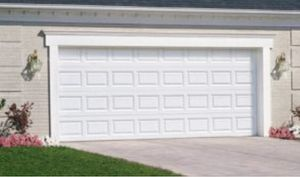 Clopay classic 10ft garage door and hardware for Sale in Nashville, TN