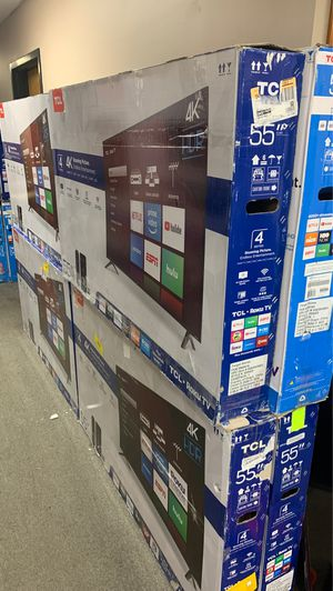 """TCL 55"""" Roku tv for Sale in Duluth, GA"""
