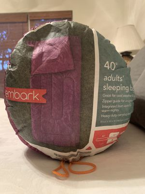 Embark Sleeping Bag 40 degree for Sale in Austin, TX