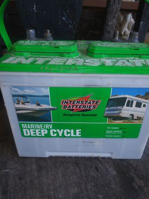RV Interstate RV or boat battery for Sale in Greenville, TX
