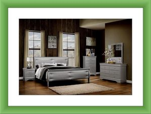 11pc Cherry bedroom set brand new free shipping for Sale in Fairfax, VA