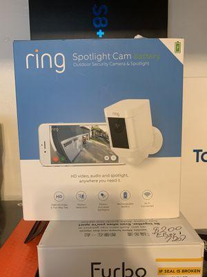 Ring spotlight cam new for Sale in Philadelphia, PA