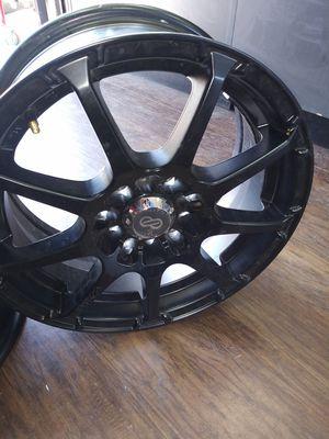 Matte black 15 in rims for Sale in Del Valle, TX