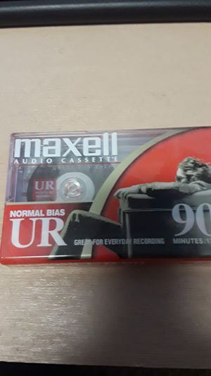 90 Minute unused cassette tape for Sale in Baltimore, MD