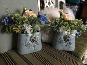 Flowers with vase for Sale in Orlando, FL