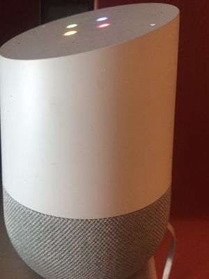 2018 Google chrome wifi enabled Bluetooth Voice audio speaker for Sale in Strongsville, OH