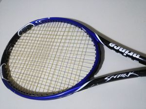 Prince Shark Turbo Midplus Tennis Racket, Strung & Ready, Power level 925 for Sale in Darien, CT