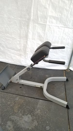 EXERCISE FITNESS EXCELLENT CONDITION BODY SOLID ROMAN CHAIR/HYPER EXTENTION VERY SOLID AND STURDY WITH NICE THICK PADDING for Sale in Long Beach, CA