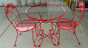Metal Table and 2 Chairs for Sale in Phoenix, AZ