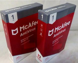 Mcafee MAB00ETG1RAA Antivirus 2 pieces 2017 Lics. for Sale in Orlando,  FL