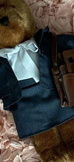 "Vtg Teddy Bear Plush Aldon Heart ""Teddy dressed as a teacher or lawyer"" for Sale in Corona,  CA"