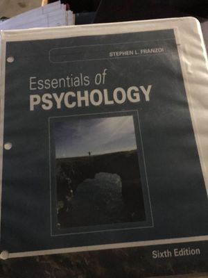 Essentials of psychology for Sale in Stockton, CA