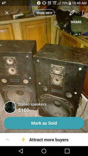 Stereo speakers for Sale in Pineville, LA
