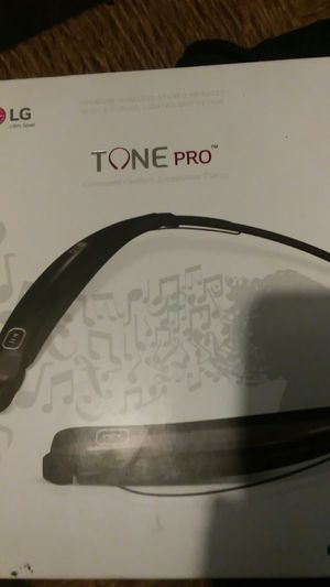 Tone Pro LG bluetooth headset for Sale in Columbus, OH