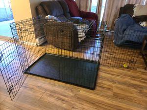 XX Large dog crate W/2 Doors for Sale in Farmington Hills, MI