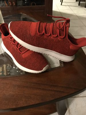 Adidas tubular red size 9.5 men's for Sale in West Chicago, IL