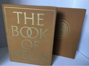 The Book of Kells 1976 230 Pages 126 Color Plates 75 Monochrome Illustrations for Sale in Pimmit Hills, VA