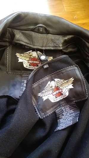 Harley davidson motorcycle jacket for Sale in Industry, CA