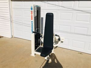 Seated Tricep Pushdown - Magnum Commercial Equipment - Workout - Fitness - Exercise - Gym Equipment for Sale in Downers Grove, IL