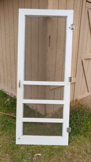 Vintage wood screen door in good condition for Sale in Hensley, AR