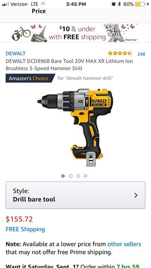 Brand new dewalt hammer drill driver for Sale in Portland, OR