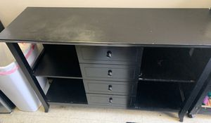 Black TV Stand for Sale in Trenton, NJ