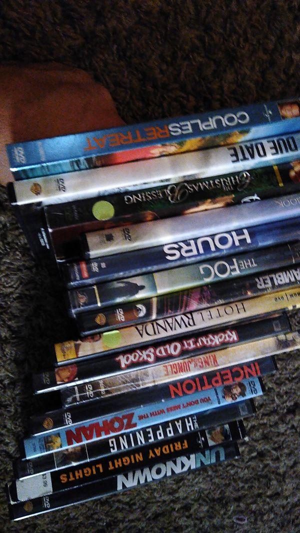 Random working DVDs with case