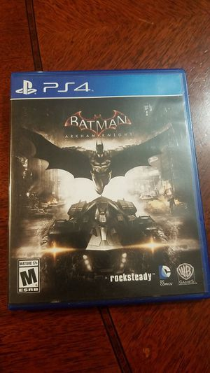Batman Arkham knight for PS4 for Sale in Fontana, CA