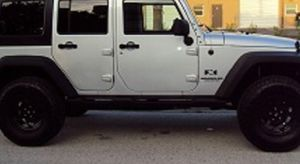 Great Shape. 2007 Jeep Wrangler Unlimited 4Wheels for Sale in Baltimore, MD