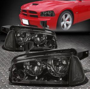 2006 ~ 10 Dodge Charger smoked headlights 🏎💡🏎 for Sale in Montebello, CA