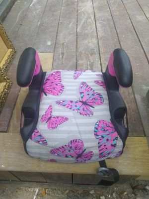 Booster seat with Butterflies for Sale in Houston, TX