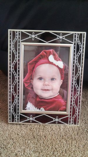 5 x 7 Christmas stained glass photo frame. New! for Sale in Stockton, CA